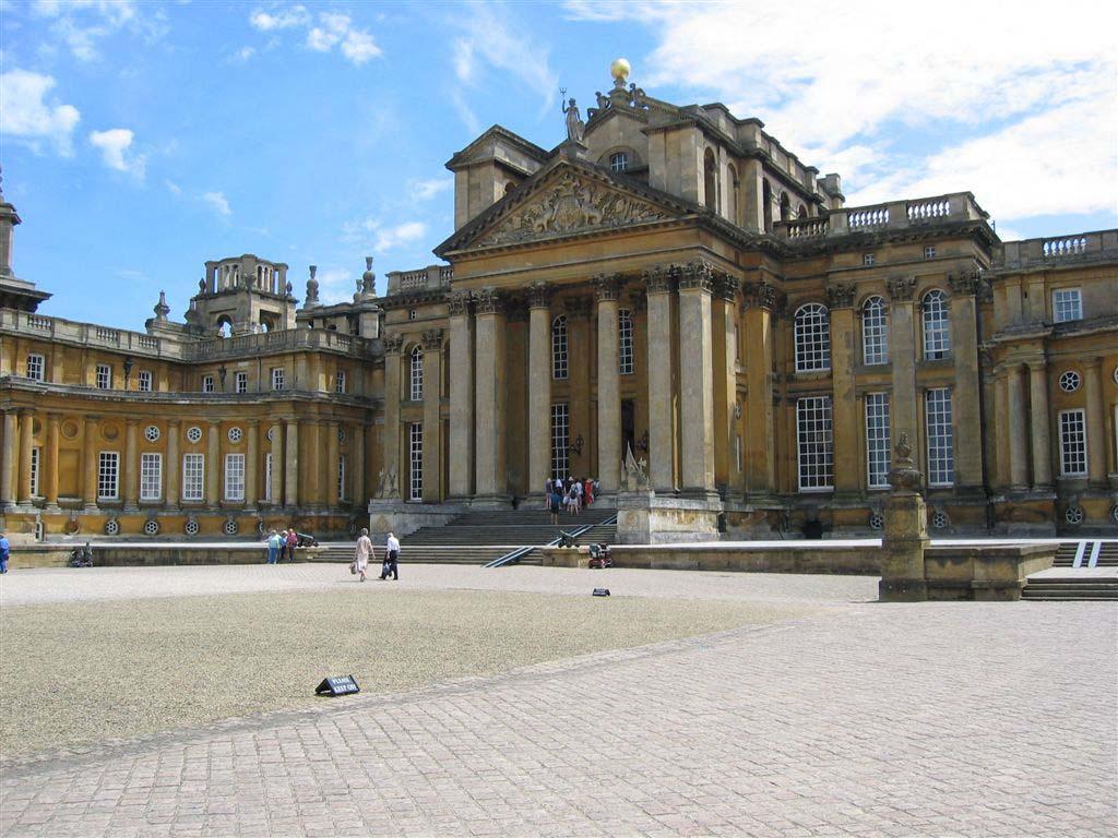 blenheim palace architect